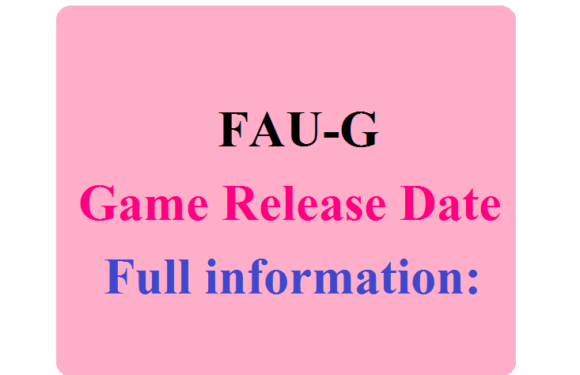 When will the FAU-G Game release and who is making this game? Know full information:
