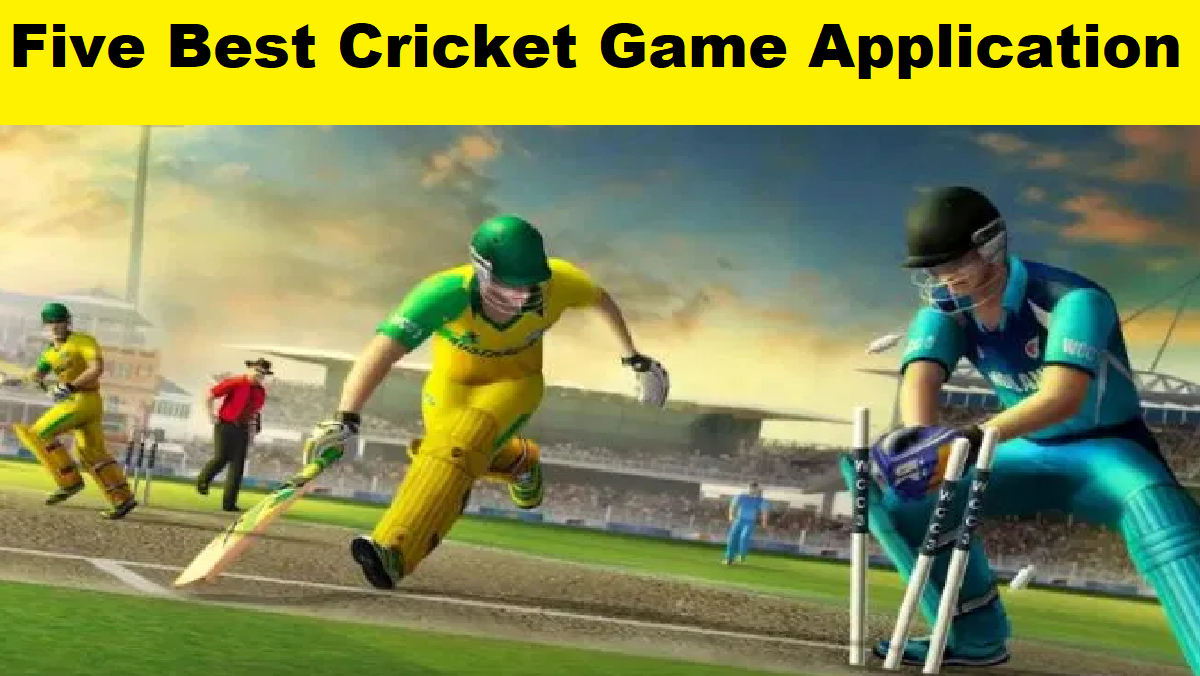 Five Best Cricket Game Application